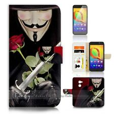 ( For Telstra 4GX Premium ) Case Cover P21289 V for Vendetta
