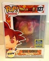 Funko Pop! Ssg Goku 827 Dragonball Z SDCC 2020 Pop! Animation