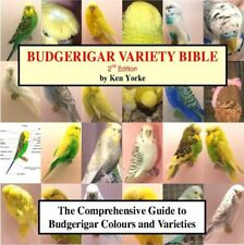 Budgerigar Variety Bible (Reference book supplied on a Usb memory stick)