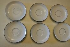 015 RARE BAVARIA CHINA EXCLUSIVELY FOR PRUDENCE 13 SAUCERs  VINTAGE Used Germany