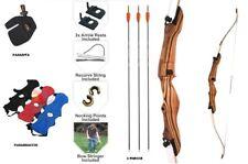 kit arco scuola per uomo set beginner arco completo con accessori e frecce