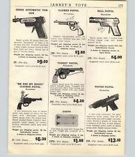 1947 PAPER AD Toy Super Automatic Tom Gun Wyandotte Me and my Buddy Pistol G Man