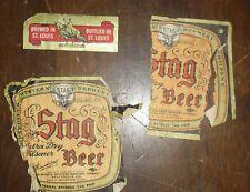 Esslinger King Pin Lager IRTP Beer 15 Gallon Label Phil