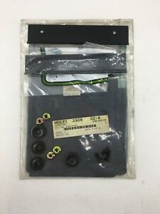 ARCTIC CAT P/N 0436-093 ATV FRONT MUD FLAP KIT GENUINE ARCTIC CAT PARTS