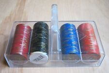 Poker Chips PP Cards Casino With Case Dealer Button Casino Texas Hold Em