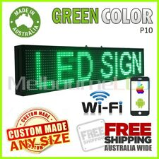 LED SIGN 1M Green WiFi Control Programmable Message Window Display 990x190