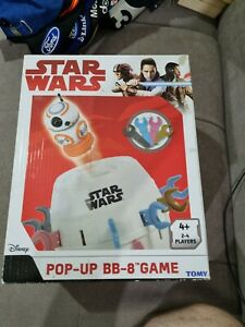 Licensed Disney STAR WARS POP-UP BB-8 Classic Family Fun Game of Chance By TOMY