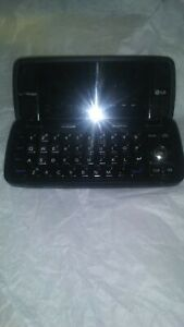 LG Voyager VX10000 Verizon Cell Phone BLACK flip touchscreen camera bluetooth 3G
