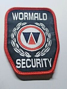 WORMALD SECURITY PATCH / BADGE