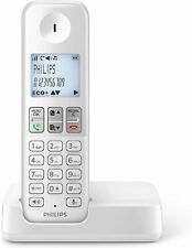 Philips D2501W/34 Phone Fixed Wireless 16 Hours Backlit Hands Pound