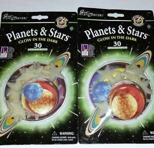 GLOW IN THE DARK STARS & PLANETS 80 50 30 Bedroom Space constellation lavalamp
