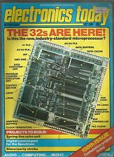 ELECTRONICS TODAY International - MAGAZINE - OCTOBER 1984 - good condition