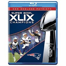 NFL Super Bowl Champions (49)XLIX: New England Patriots (Blu-ray)(Region Free)