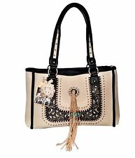 Montana West Concealed Carry Purse Dual Sided Western Country Designer Tote