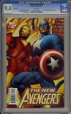 NEW AVENGERS #6 - HITCH INCENTIVE VARIANT - CGC 9.4 - 0133076006