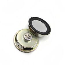 Portable 8 ohm 5W 50MM Speaker Internal Magnetic Aluminum Shell Round Speaker