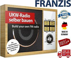 Franzis Build Your Own FM Radio Kit (UK Stock)