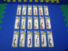 Moonshine Super Glow Lures Shiver Minnow Size #3 w/Hooks CHOOSE YOUR COLOR!!!