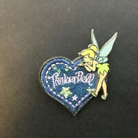 WDW - Denim Heart Tinker Bell 3D - Disney Pin 30326
