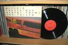 GEORGE ADAMS - MELODIC EXCURSIONS - LP JAPAN TIMELESS RJL 8055 - 1983