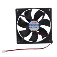 12V 2Pin Sleeve Bearing Cooling Fan for Computer Case 120mm x 25mm SZUSTP