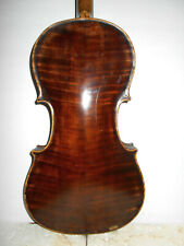"""Antique Old Vintage """"AB Clark Repaired Richmond Ind. 1908"""" Full Size Violin NR"""
