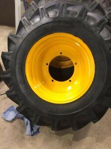 JCB Wheel rim tyre 5 stud
