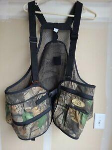 Beard Buster Mossy Oak Hunting Vest Size Lg/Xl