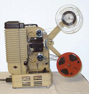 8mm Filmprojektor Eumig P26 Projektor cinema projector Projecteur, good working