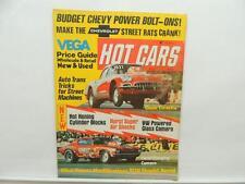 July 1973 Hot Cars Magazine Vega Camaro Corvette Chevrolette L10285