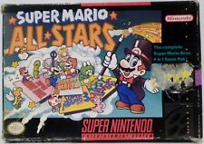Super Mario All-Stars SNES Super Nintendo Video Game no instructions Used 1993