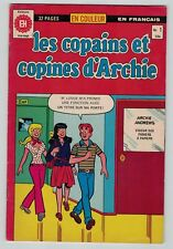 les copains et copines d'Archie 1 French edition En Francais 1979 Heritage Fine