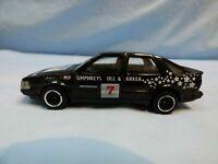 Vintage 1985 Corgi SAAB 9000 Black Rally Car Diecast Model Bull & Barker Toy
