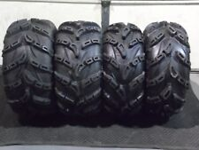 "26"" WILD THANG ATV TIRES (2) 26X9-12  (2) 26X11-12  FULL SET 4 ( 1.2"" DEEP LUG )"