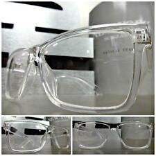 Mens or Women CONTEMPORARY MODERN Style Clear Lens EYE GLASSES Transparent Frame