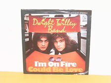 """SINGLE 7"""" - DWIGHT TWILLEY BAND - I'M ON FIRE"""