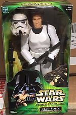 "Star Wars Action Collection Han Solo Stormtrooper  12"" Figure  MISB POTF"