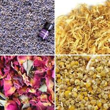 Bulk Flower Kit Chamomile Ultra Blue Lavender Red Rose Buds &amp Petals Marigold