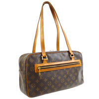 LOUIS VUITTON CITE GM HAND TOTE BAG FL0033 PURSE MONOGRAM CANVAS M51181 32000