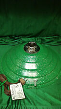 VINTAGE MUSICAL ROTATING CHRISTMAS TREE STAND GREEN W/SILVER METALLIC SPECKS