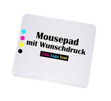 Mousepad mit Wunschmotiv Druck - bedruckt mit Foto Logo Text - Mauspad