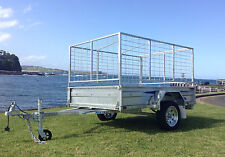 "SeaTrail 7x5 Box Trailer, Galvanised, 13"" Rims, New Tyres/Rims, Tipper Trailer"