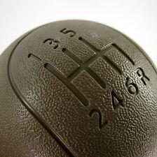 New plastic manual gear shift knob for Nissan Navara D40 6 speed tan brown beige
