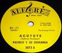 PACHECO Y SU CHARANGA Acuyuye LATIN 78 Alegre VG++ vinyl