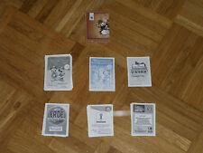 10 x Sammelkarten Sticker -Netto ,REWE, Penny, Panini , EDEKA