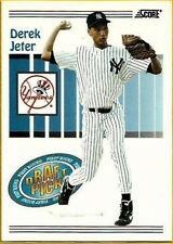 1993 Score Derek Jeter New York Yankees #489 Baseball Card