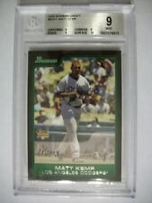 MATT KEMP 2006 Bowman Draft #1 BGS MINT 9 RC