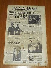 MELODY MAKER 1953 #1014 FEB 21 JAZZ SWING KEN COLYER FRANK SINATRA RONNIE SCOTT