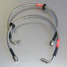 CMS BMW E36 M3 REAR  TO PORSCHE CALIPER BRAIDED BRAKE LINE -  BL15