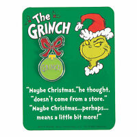 The Grinch Christmas Holiday Retro Enamel Pin Fashion Flair Collectible Gift NEW